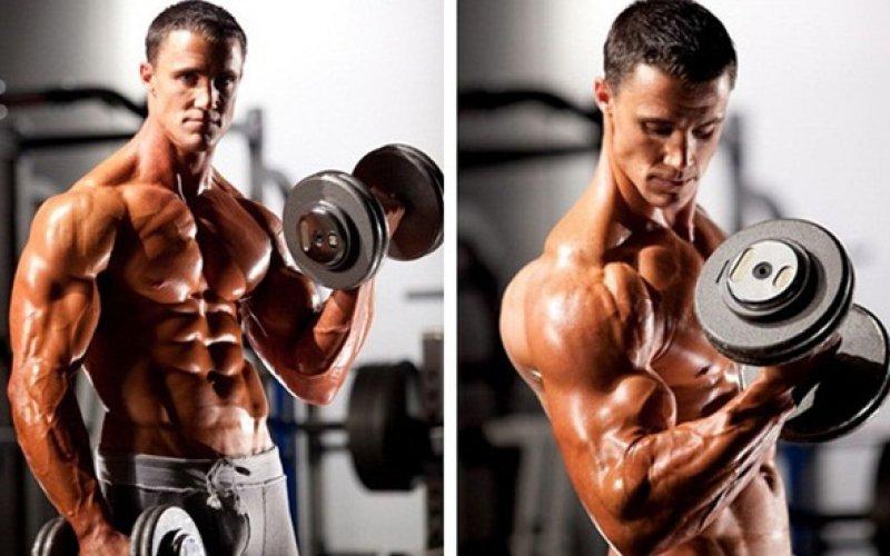 Две ефективни упражнения за бицепс