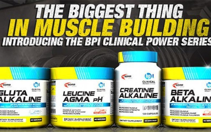 BPI Sports Clinical Power Series