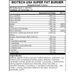 Biotech Super Fat Burner 120 таблеткиBT4662