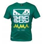 Зелена тениска с лого на гърдите BAD BOYЗелена тениска с лого на гърдите BAD BOY2