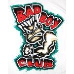 Бяла тениска с картинка и червен надпис Bad BoyБяла тениска с картинка и червен надпис Bad Boy3