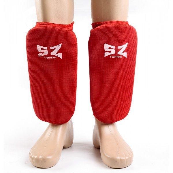 Протектори за крака с къс ластик за Таекуондо SZ Протектори за крака с къс ластик SZ
