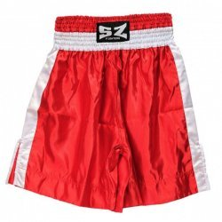 Боксови шорти SZ Fighters червени