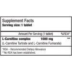Biotech L-carnitine 1000 mg 60 таблеткиBT3812