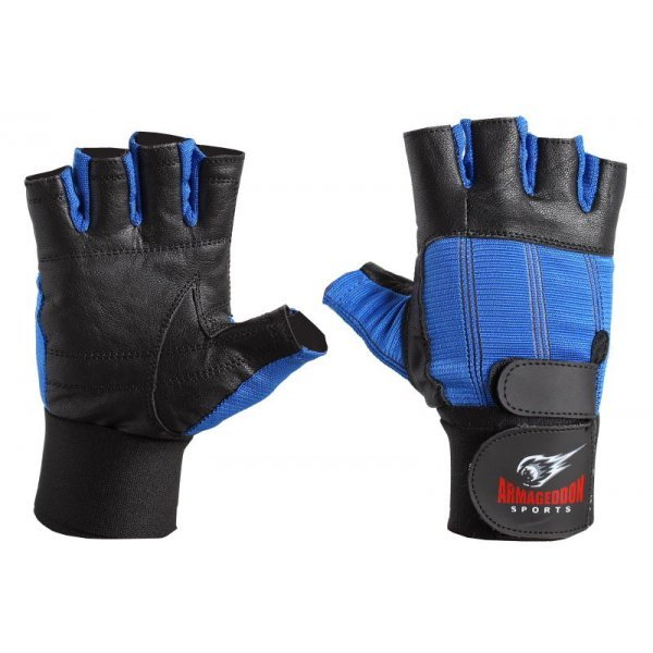Фитнес Ръкавици с Накитници Blue Armageddon Sports ARM027