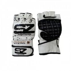 Бели ММА ръкавици EVO