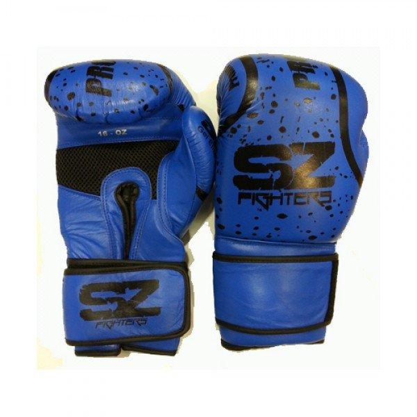 Сини Боксови ръкавици EVO PredatorСини Боксови ръкавици EVO Predator изк. кожа