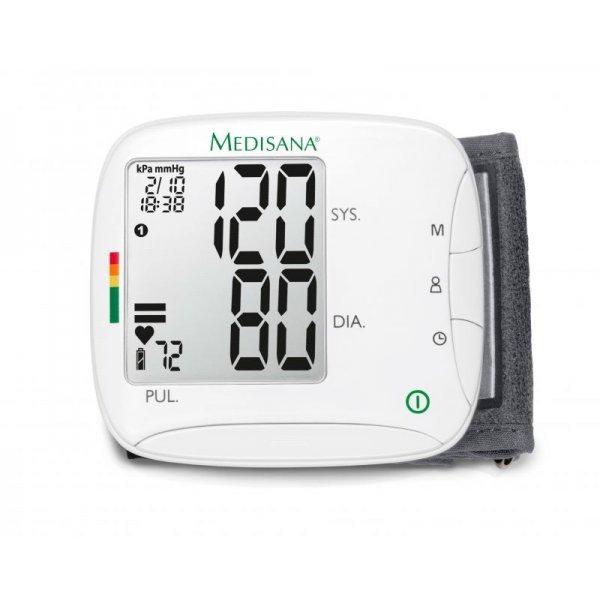 Апарат за измерване на кръвно налягане на китка Medisana BW 333 51075