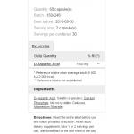 Prozis D-Aspartic Acid 1500 мг 60 капсулиPRZ5132