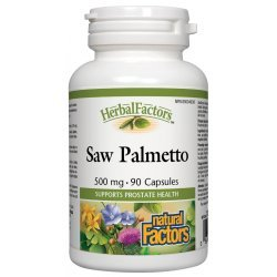 Natural Factors Saw Palmetto 500 мг 90 капсули