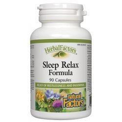 Natural Factors Sleep Relax 325 мг 90 капсули