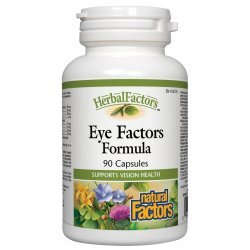 Natural Factors Eye Factors Formula 260 мг 90 капсули