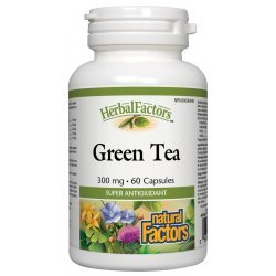 Natural Factors Green Tea 300 мг 60 капсули