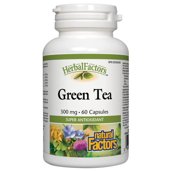 Natural Factors Green Tea 300 мг 60 капсули4833