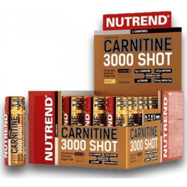 Nutrend CARNITINE 3000 20 х 60 млNutrend CARNITINE 3000 20 х 60 мл