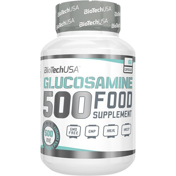Biotech Glucosamine 500 мг 60 капсулиBT350