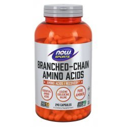 NOW Branched Chain Amino Acids 240 капсули