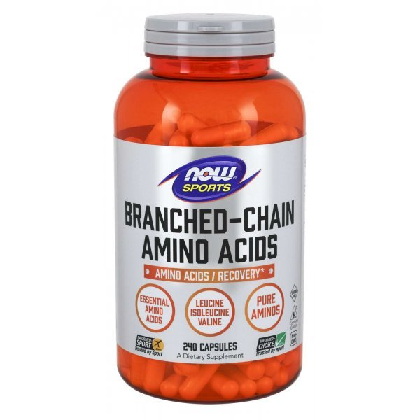NOW Branched Chain Amino Acids 240 капсулиNOW Branched Chain Amino Acids 240 капсули