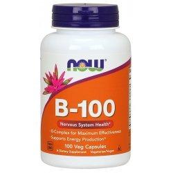NOW Витамин B-100 100 капсули