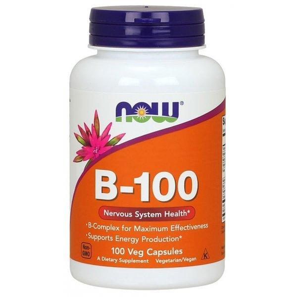 NOW Витамин B-100 100 капсулиNOW436