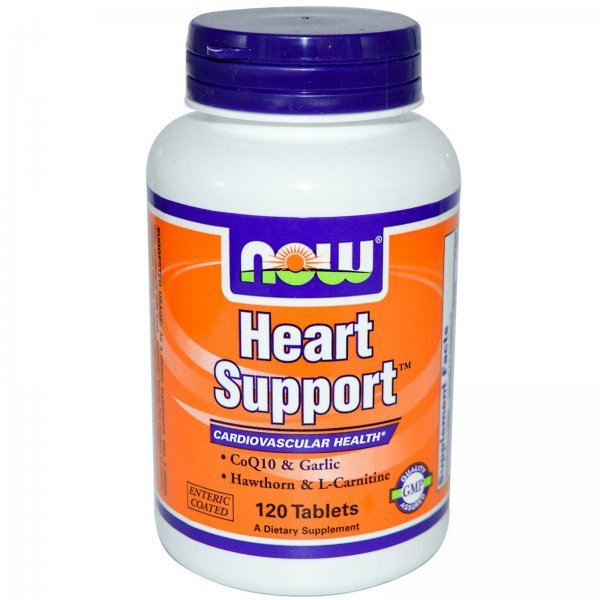 NOW Heart Support 120 таблеткиheartsupport