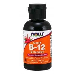 NOW Витамини Комплекс Б-12 59 мл