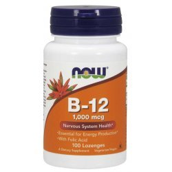 NOW Vitamin B-12 1000 мкг 100 дражета