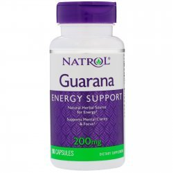 Natrol Guarana 200 мг 90 капсули