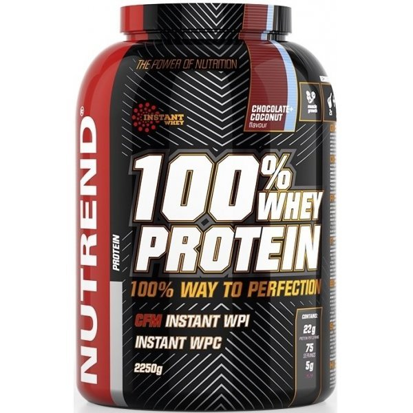 Nutrend 100% Whey Protein 2250 грNutrend 100% Whey Protein 2250 гр