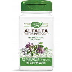 Nature's Way Alfalfa 405 мг 100 капсули