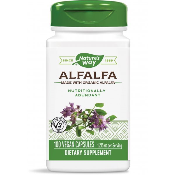 Nature's Way Alfalfa 405 мг 100 капсули10100