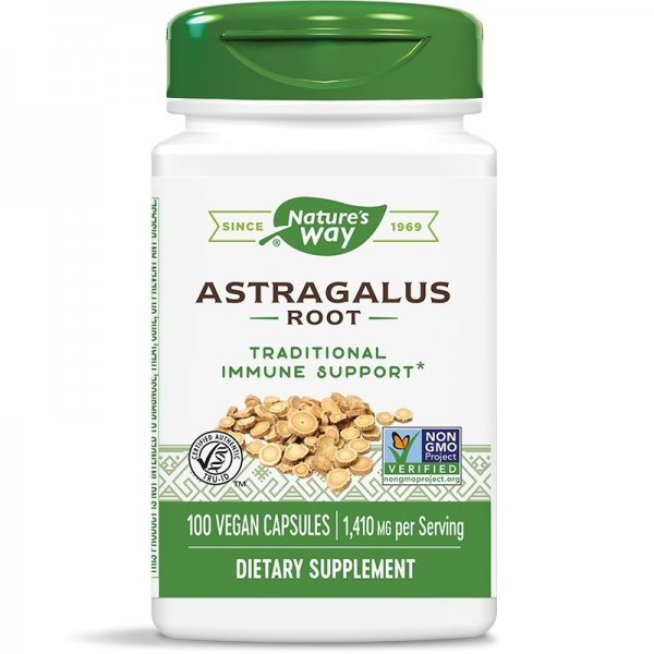 Nature's Way Astragalus 470 мг 100 капсули10180