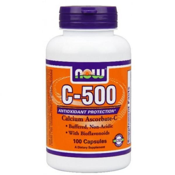 NOW Витамин C-500 RH 100 таблеткиNOW670