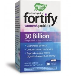 Nature's Way Primadophilus® Fortify™ Women's Probiotic 30 Billion 30 капсули