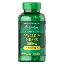 Puritan's Pride Psyllium Husks 500 мг 400 капсули
