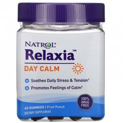 Natrol Relaxia Day Calm 60 дъвчащи бонбона
