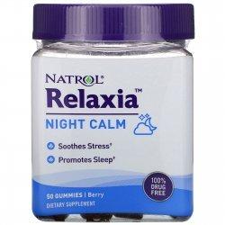Natrol Relaxia Night Calm 50 дъвчащи бонбона