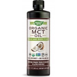 Nature's Way 100% MCT Oil Plant based 480 мл