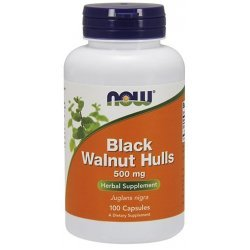 NOW Black Walnut Hulls 100 капсули