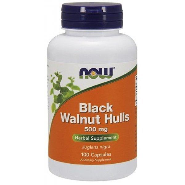 NOW Black Walnut Hulls 100 капсули  NOW4606