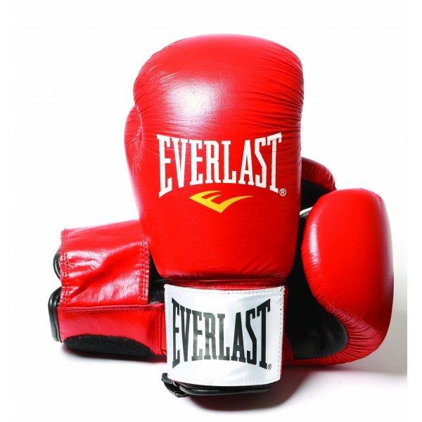 Боксови ръкавици Everlast Ergo червени Боксови ръкавици Everlast червени
