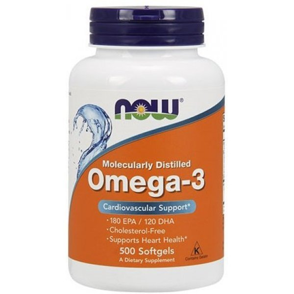 NOW Omega-3 1000 мг 500 дражетаNOW1653
