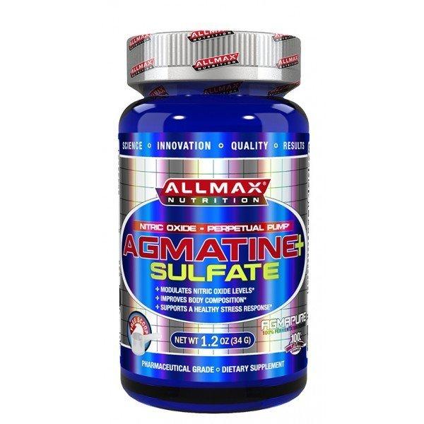 AllMax Agmatine Sulfate 34 грAllMax Agmatine Sulfate 34 гр