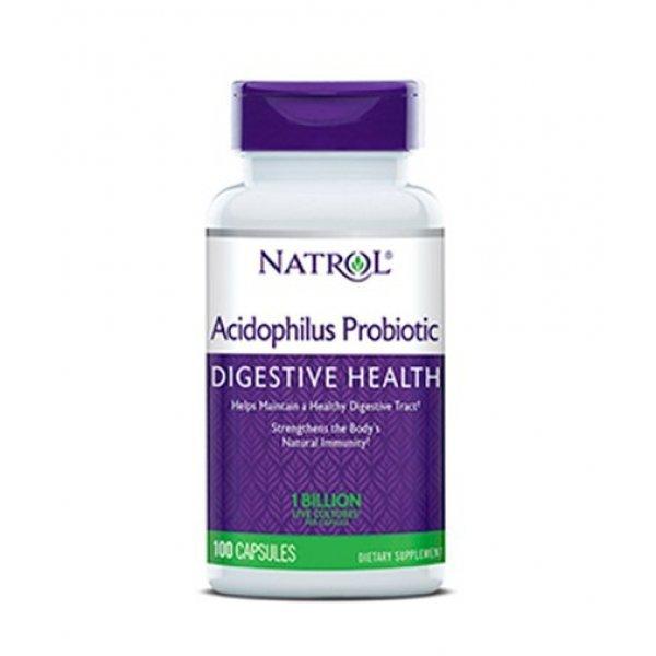Natrol Acidophilus Probiotic 100 мг 100 капсулиNAT344