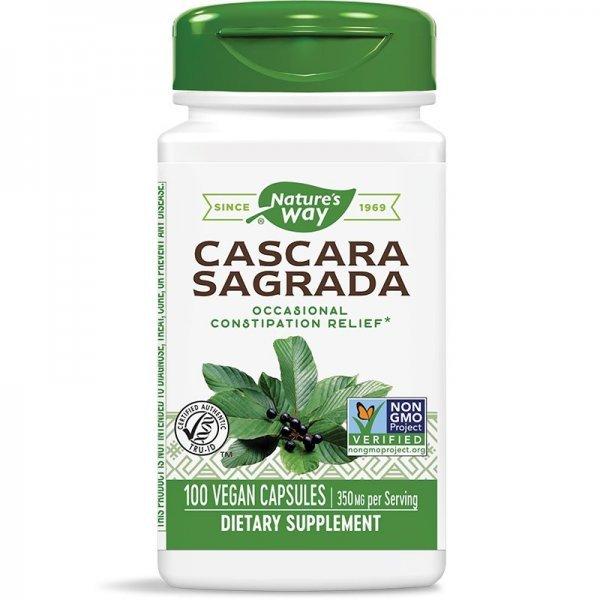 Nature's Way Cascara Sagrada 425 мг 100 капсули11300