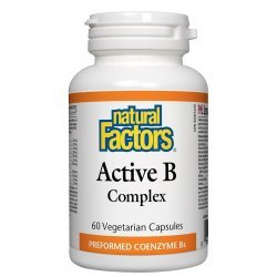 Natural Factors BioCoenzymated ™ Active B Complex 60 капсули