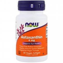 NOW Astaxanthin 60 дражета