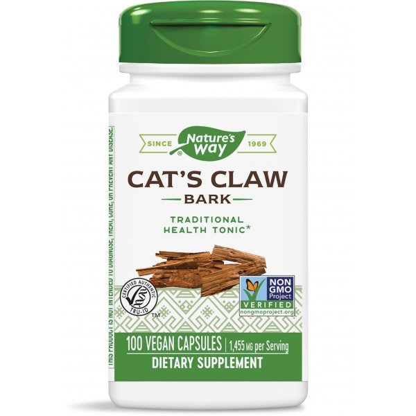 Nature's Way Cat's Claw Bark 485 мг 100 капсули11450