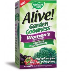 Nature's Way ALIVE! Garden Goodness™ Women's Multi-Vitamin 950 мг 60 таблетки