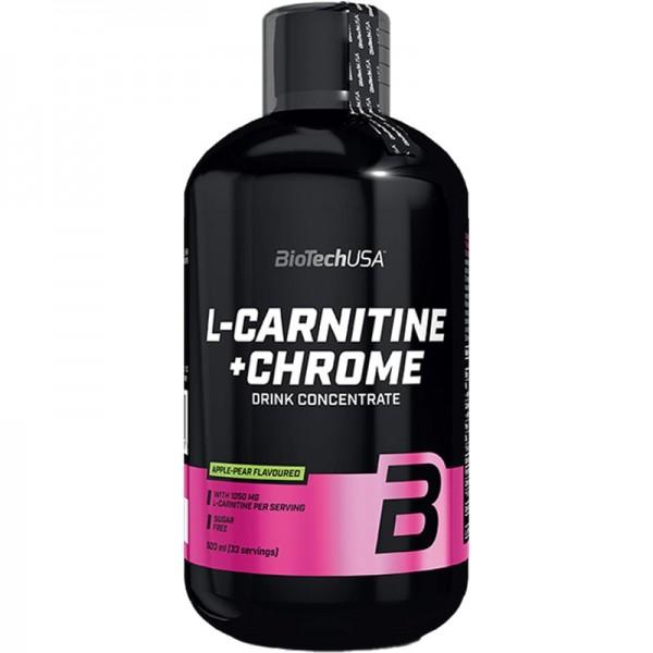 Biotech Liquid L-Carnitine + Chrome 500 mlBT380